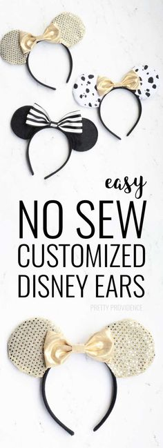 I love these easy DIY Mickey Ears! Perfect to wear to Disney World or Disneyland… I love these easy DIY Mickey Ears! Perfect to wear to Disney World or Disneyland. Would also make for a great birthday party activity! Diy Disney Ears, Disney Mickey Ears, Disney Fun, Disney Trips, Walt Disney, Mickey Ears Diy, Disneyland Trip, Disney Cruise, Micky Ears