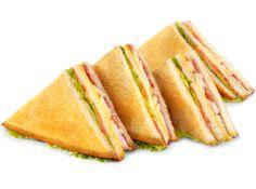 Imagen por Chelo Ortego Sanchezpara dos personas:4 rebanadas de pan integral, 4 lonchas de pechuga de pavo ARGAL   , 1 huevo duro partido en lonchas finas, dos hojas de lechuga en tiritas finas,   1/2 pechuga de pollo a la plancha cortada en tiritas finas, dos rodajas finas de tomate para cada sandwich y un poco de mayonesa en cada una de las tapas. Ir colocando cada ingrediente en cada   una de las tapas del pan, dorarlo a la plancha,  cortarlos por la mitad y ponerlos en un plato,  un ...