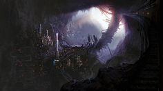 DMP Challenge 4 by Nickolas Russell   Matte Painting   2D   CGSociety