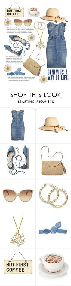 """""""Summer 2017"""" by foxxyslang ❤ liked on Polyvore featuring Moschino, Gap, Mar y Sol, Linda Farrow and Colette Malouf"""