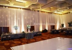 wall drapes for weddings - Google Search