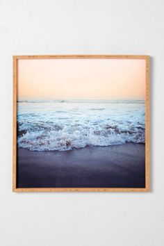 Leah Flores For DENY Crash Into Me Framed Wall Art - Urban Outfitters