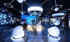 Emotional touch PR center exhibition - Dconcierz
