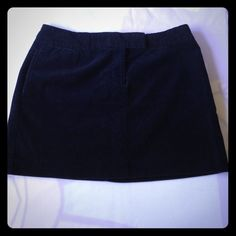 J.Crew Cute skirt dark navy blue in excellent condition  it has side pockets J. Crew Dresses