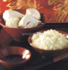 Hainani csirke rizzsel