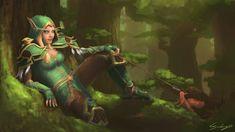 Alleria Windrunner by Csokiskocka.deviantart.com on @DeviantArt