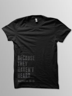 Selling an awesome shirt to raise money for our trip to Haiti! Buy 1, (or 2) you won't regret it!