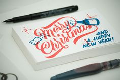 Christmas by Ales Santos, via Behance
