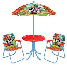 Disney Mickey And Friends Patio Set By Disney, Http://www.amazon