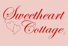 """Tonight we're all about the lovely little, """"Sweetheart Cottage!"""" A sweet little cottage filled with love & red, white and pink hearts!"""