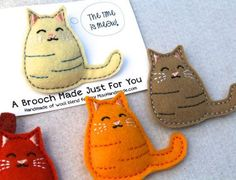 1000+ ideas about Felt Cat on Pinterest | Cat pattern, Cat crafts ...