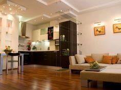 перегородка в кухне-студии - Пошук Google