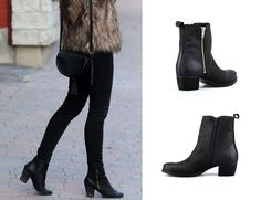 1-cu-fermoar Knee Boots, Shoes, Fashion, Moda, Zapatos, Shoes Outlet, Fashion Styles, Knee Boot, Shoe