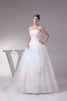 Robe de mariée princesse A-ligne en Satin Col en cœur http://fr.GracefulDress.com/Robe-de-mariée-princesse-A-ligne-en-Satin-Col-en-cœur-p20211.html