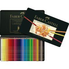 Creioane colorate Polychromos, 36 culori, Faber-Castell - Creioane colorate Faber-Castell - Creioane profesionale - Rechizite