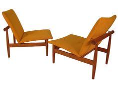 Finn Juhl Japan Chairs - for sale at www.MetroEclectic.com - $3950