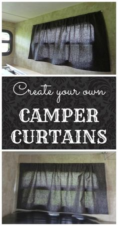 your own camper window curtains. A quick and cheap way to update your camper: Make your own camper window curtains.A quick and cheap way to update your camper: Make your own camper window curtains.