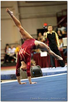University of Minnesota women's gymnastics Dusti Russell college gymnast floor exercise #KyFun