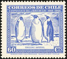 Emperor Penguin stamps - mainly images - gallery format