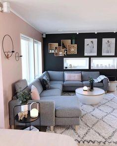 Cozy Living Room For Your Home - Living Room Design Small Living Room Design, Living Room Decor Cozy, Living Room Goals, Home Living Room, Living Room Designs, Living Spaces, Lamps In Living Room, Grey Room Decor, Apartment Living