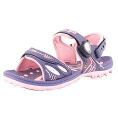 GP7620B Kids Snap Lock Outdoor/Water Sandals, Purple Pink, EU35. >Easy'n Go Snap Lock (Magnetic closure, stainless steel coated, rust proof, save & secure). >3 adjustable padded straps for best fit and comfort. >Convertible back strap to wear as slide sandal. >Lite arch suppport. >Shock absorbing sole provides cushioning and flexibility. >Light weight. >Non-skid outsole, very slip-resistant wet or dry. >Light weight. >Patterned insole to prevent the feet from slipping when wet. >BPA free....