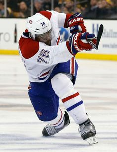 "P.K. Subban....... you ARE the man!!!!!!!! (Sporting his ""Easton"" gloves) ;););)"