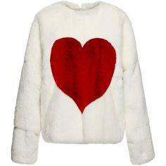 MSGM Mink Heart Sweatshirt ($4,910) ❤ liked on Polyvore featuring tops, hoodies, sweatshirts, heart sweatshirt, msgm top, heart tops, graphic print sweatshirts and msgm