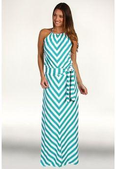ShopStyle: Michael Stars - Sleeveless Halter Maxi Dress
