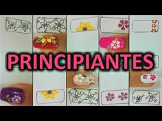 Dibujar FÁCIL Flores en tus Uñas - 5 formas de hacer flores en tus uñas - YouTube Magic Knot, Ring Tutorial, Simple Nail Designs, Flower Nails, Celtic Knot, Manicure And Pedicure, Toe Nails, You Nailed It, Nail Art