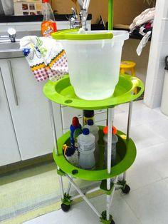 Tu Organizas.: Carrinho de limpeza