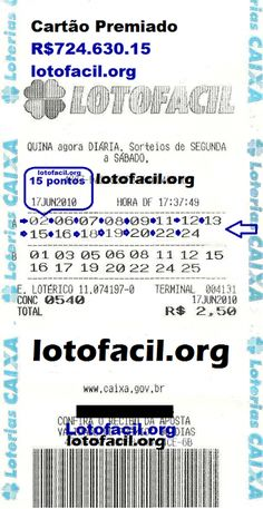 lotofácil: Lotofácil