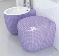 Not crazy about having a purple toilet - but it is fun to have one in a different color I think.