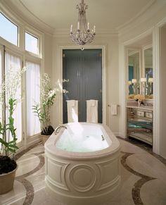 Master bath in Paris