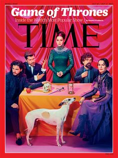 "winterfellharington: ""NEW: The Game of Thrones cast and Emilia Clarke, Kit Harington and many more for Time Magazine. Game Of Thrones Besetzung, Game Of Thrones Cover, Game Of Thrones Magazine, Cersei Lannister, Daenerys Targaryen, Jaime Lannister, Khaleesi, Jon Snow, Kit Harington"