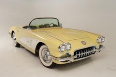 1958 Chevrolet Corvette Convertible   id really love to have  a 58 vette in this color