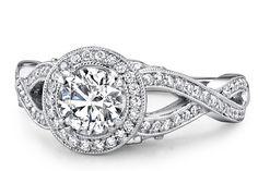 infinity engGEMENT RING | Infinity Engagement Ring | Dream Wedding