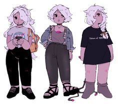 amethyst wearing some of my recent outfits!!