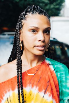 Of course, there was no shortage of Black hair inspiration at this year's Essence Festival. Black Girl Braided Hairstyles, African Braids Hairstyles, Coachella, Edm, Black Hair Inspiration, Festival Makeup Glitter, Essence Festival, Winner, Festival Hair