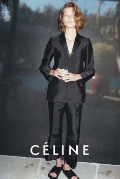 Céline spring/summer 2013 advertisement with Daria Werbowy.