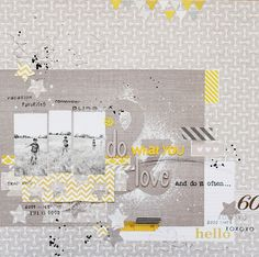 I {lowe} SCRAP :: 'LET it GO' by Anna-Maria