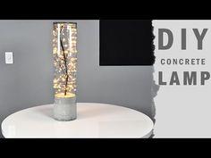 DIY Indoor Outdoor Concrete Lamp | Hometalk