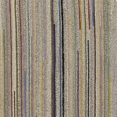 Savoy Cream Striped Hand Knotted Wool Rug | Crate And Barrel