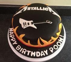 Metallica themed cake