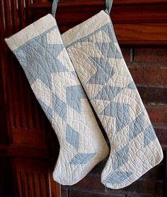 Quilty Chrismas stockings