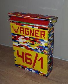 Briefkasten aus LEGO® Steine