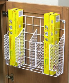 Another great find on #zulily! home basics Door-Mount Wrap Organizer by home basics #zulilyfinds