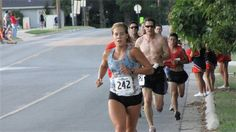 Heritage 5K 2010 - I actually did beat Courtney Efurd!