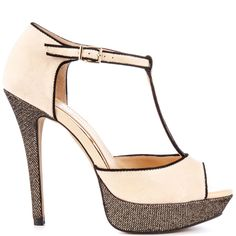 Heels I Love #heels #summer #high_heels #color #love #shoes Bansi - Bone Summer Haze  					Jessica Simpson