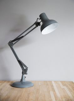 Clerkenwell Desk Lamp in Charcoal