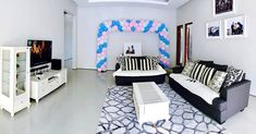 Interior Ruang Tamu Ruang Tamu Sederhana Pink Bedroom For Girls, Reception Areas, Pink Girl, Toddler Bed, Bedroom Decor, Loft, Pilates Studio, Community, Furniture